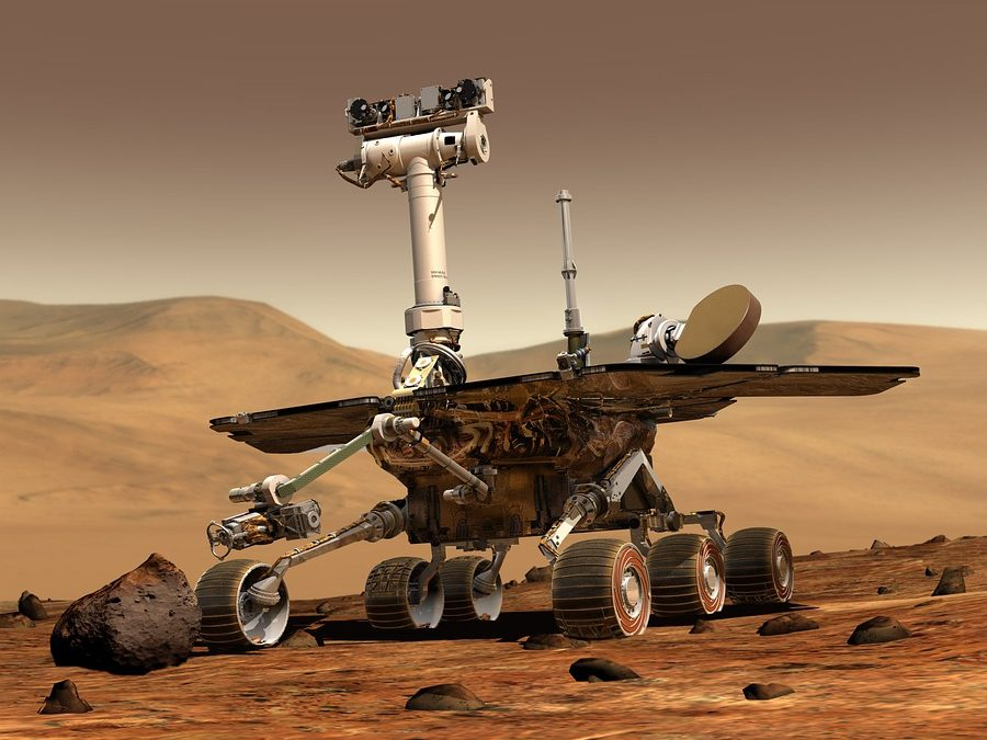 How Do All Mars Rover Images Include A Perfectly Focused SET OF SELFIE STICK SHOTS?