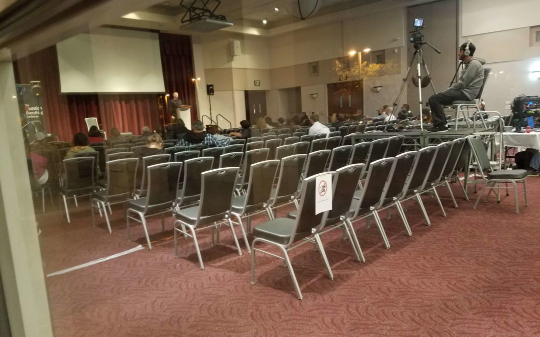 QE2019 Conference Sparsely Attended Low Energy Event